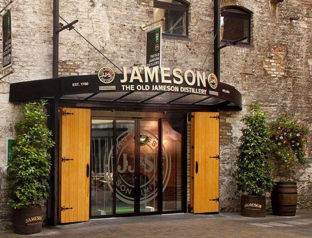 Jameson Dublin Distillery Smithfield