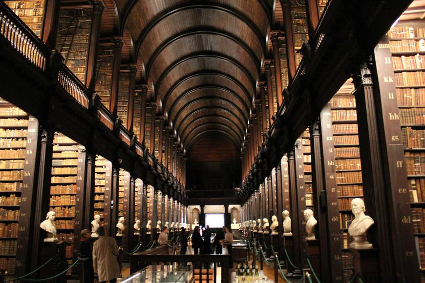 Trinity College – Dublin – WANDER IRELAND